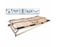 TICAA Rete a doghe in legno Ti-Flex Luxus VS 42 (90 x 200 cm)