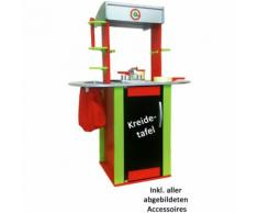 HAPE Cucina giocattolo Oxybul rosso/verde