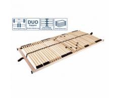 TICAA Rete a doghe in legno Ti-Flex Luxus 42 (90 x 200 cm)