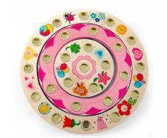 HESS Kit Anello Portacandeline per Compleanno Principessa, grande