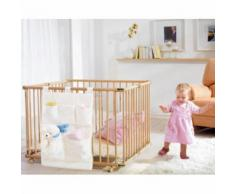 GEUTHER Box per bambini LUCILEE 94,5 x 102 cm - naturale