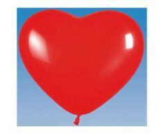 HAPPY PEOPLE Palloncini gonfiabili Small Heart 100 pezzi