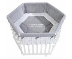 roba Box per bambini 6-angoli bianco Rock Star Baby