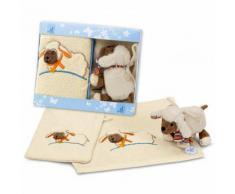 STERNTALER Set regalo asciugamani Pecora Stanley