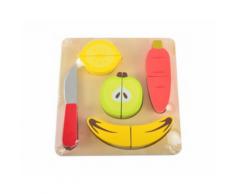 Tagliere in legno con cibo e accessori – Magni (Frutta)