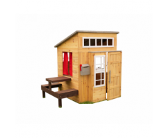 Moderna Casetta per Bambini in legno con tavolo e BBQ– KidKraft