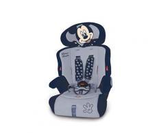 Seggiolino auto Mickey Mouse Blu Gruppo 1/2/3 - Disney