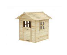 Casetta Gioco in legno naturale
