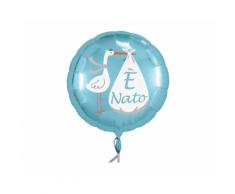 Palloncino 45 cm Cicogna E' Nato