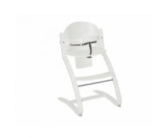 Seggiolone in Legno Regolabile Move – Roba (Bianco)