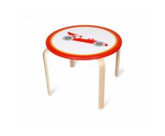 Tavolo in legno per bambini rotondo Formula 1 Racer – Scratch