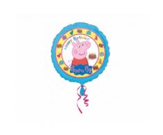 Palloncino 43cm Buon Compleanno Peppa Pig
