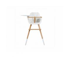 Seggiolone Evolutivo di Design Ovo – Micuna (Plus Bianco)