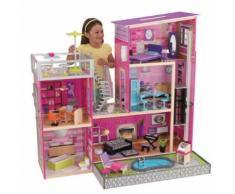 """Casa delle Bambole """"Uptown Lusso"""" con Piscina, Luci e Suoni - KidKraft"""