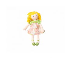 "Bambola in Stoffa 35cm ""Pop Cerise"" (Ciliegia) – Moulin Roty"