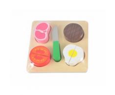 Tagliere in legno con cibo e accessori – Magni (Verdura)