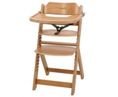Seggiolone evolutivo in legno Timba con vassoio - Safety 1st - Natural Wood