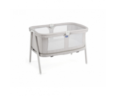 Nuova Culla LULLAGO ZIP da 0 a 18 mesi trasportabile – Chicco (Light Grey)