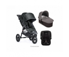 Passeggino Trio City Elite Deluxe – Baby Jogger (Titanium)