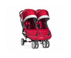 Passeggino Gemellare City Mini™ Double – Baby Jogger (Rosso Crimson)