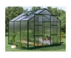 Serra da giardino in policarbonato de 5,9 m² ANISSA