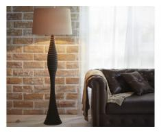 Lampada ELDIR in legno - H.157 cm - naturale