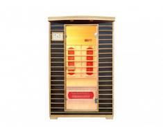Sauna a infrarossi 2 posti Wengé ANGEL II