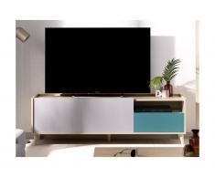 Mobile TV con 2 ante Multicolore - BICA