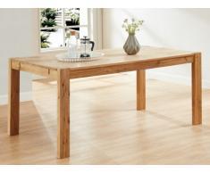 Tavolo da pranzo OLINKA - 6 coperti - Quercia massello