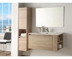 Set BEHATI - mobili per bagno - Effetto legno