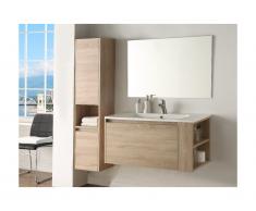 Set mobili bagno effetto legno - BEHATI