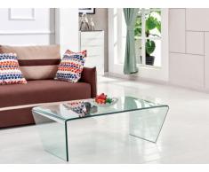 Tavolino in Vetro temperato curvo - SUZANA