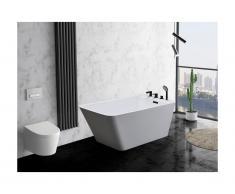 Vasca da bagno freestanding 188 L 150 x 75 x 58 cm Bianco - MIJA