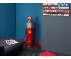 Lampada decorativa e porta CD ELDORADO - 112 cm - Colore rosso