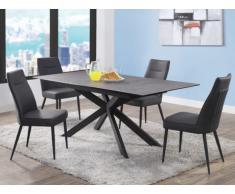 Set tavolo + 4 sedie ALWINA