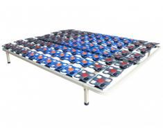 Rete con doghe con sospensioni DREAMEA PLAY - 160 x 200 cm