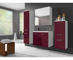 Set CLARENCE - Mobili per bagno - Rosso bordeaux