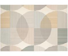 Tappeto stile contemporaneo LEIRA - 100% Polipropilene - 160x230 cm - Multicolore