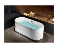 Vasca da bagno freestanding design 170x75xH58 cm - KATOUCHA