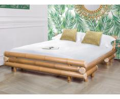 Letto matrimoniale 160 x 200 cm in Bambù - DAHLIA