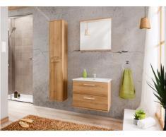 Set Mobili bagno L60 cm Effetto legno - KAYLA