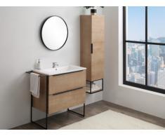 Set Mobili per bagno Effetto legno - ELISA