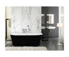 Vasca da bagno freestanding 245L 170 x 75 x 58 cm Nero - DIVINA