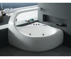Vasca idromassaggio angolare ELLIPSE - 2 posti - 300 L - 147 x 144 x H 115 cm