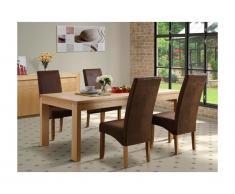 Tavolo da pranzo SYMPHONIE - 8 coperti - Legno di quercia oliato