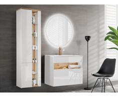 Set mobili bagno LUNA - Bianco