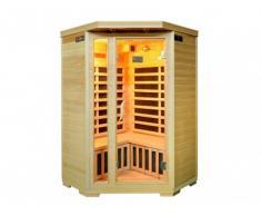 Sauna a infrarossi 3/4 posti angolare Gamma prestige ARVIKA II