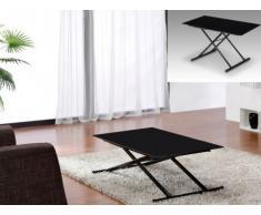 Tavolino regolabile Up e Down CRESCENDO - 4 coperti - Colore nero