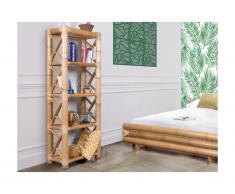 Scaffale DAHLIA - 4 scaffali - Bambù