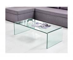 Tavolino in Vetro temperato curvo - ALONZO